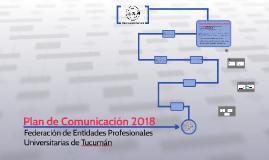 Plan de Comunicación 2018