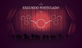 SEGUNDO POSTULADO