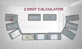 2 Digit Calculator