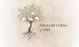 INICIO DE CURSO 4º ESO