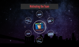 Motivating the Team