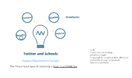 Twitter, School and the Community