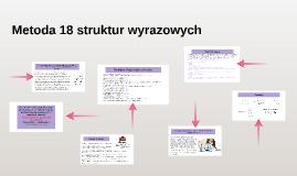 Metoda 18 struktur wyrazowych