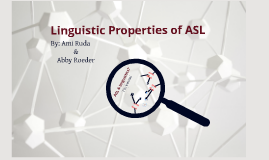 Copy of Linguistics of ASL