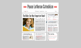 Copy of Peace Lutheran Catechism