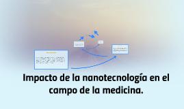 Impacto de la nanotecnología en el campo de la medicina.