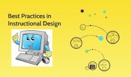 instructional design best practices