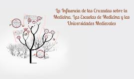 Copy of La Influencia de las Cruzadas sobre la Medicina. Las Escuela