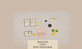 SERAT WEDHATAMA