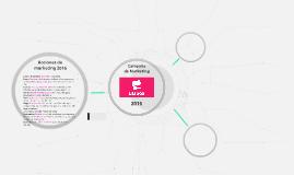 Plan de Marketing Ulabox 2016