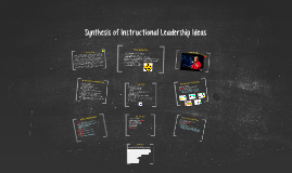 Synthesis of Instructional Leadership Ideas