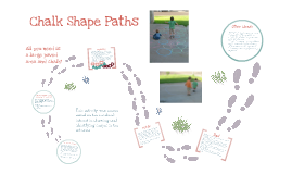 Chalk Shape Paths