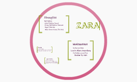 swot analysis on zara by emma vambeck on prezi