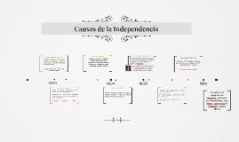 Causas de la Independencia