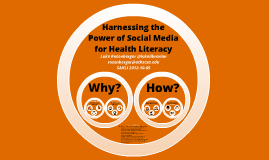 Harnessing the Power of Social Media for Health Literacy