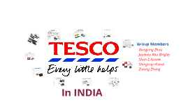 Tesco PLC in INDIA