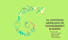 EL CONTINUO LIDERAZGO DE TANNENBAUM Y SCHMIDT