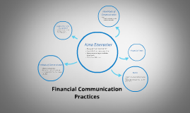 Financial Communication Practices