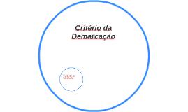 Critério da Demarcação