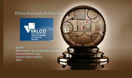 Valores Comerciales de Costa Rica.