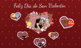 Feliz San Valentín Amor!