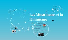 Les Musulmans et la féminisme
