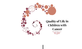 Health-Related Quality of Life in Children with Cancer