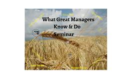 WGMKD Seminar