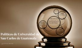 Políticas de Universidad de San Carlos de Guatemala