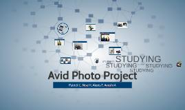 Avid Photo Project