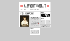 Copy of MARY WOLLSTONECRAFT