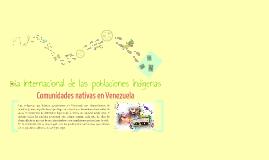 Poblaciones indígenas en Venezuela