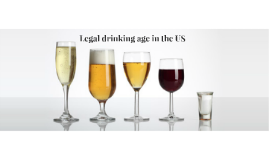 Legal drinking age of 21 in the US