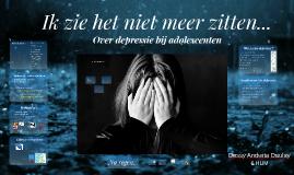Depressie bij adolescenten