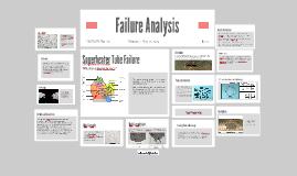 Copy of Failure Analysis