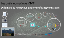 Les outils nomades en SVT