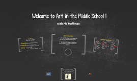 Welcome to Art in the Middle School !