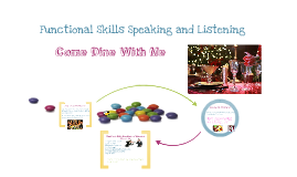 Speaking and Listening: Come Dine With Me