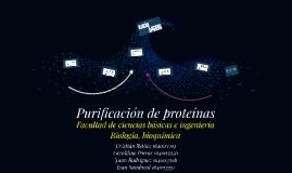 Copy of Purificación de proteínas