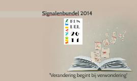 Signalenbundel 2014