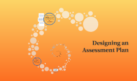 Designing an Assessment Plan