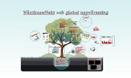 Växthuseffekt och klimatförändring