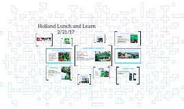 Holland Lunch and Learn
