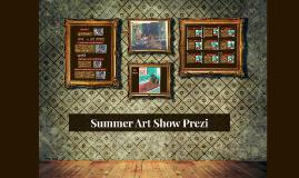 Summer Art Show Prezi