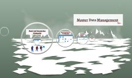 Master Data Maintenance