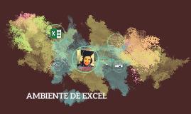 AMBIENTE DE EXCEL