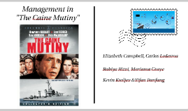 Management in The Caine Mutiny
