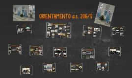 ORIENTAMENTO a.s. 2016/17