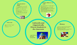 Culturally and Linguistically Diverse Students in the classr