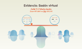 Evidencia: Sesión virtual
